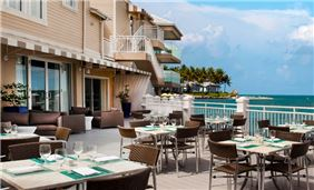 Dining Harborview of Pier House Resort & Spa, Key West Florida