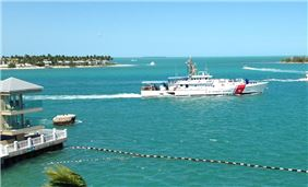 Ocean View from Pier House Resort & Spa, Key West Florida