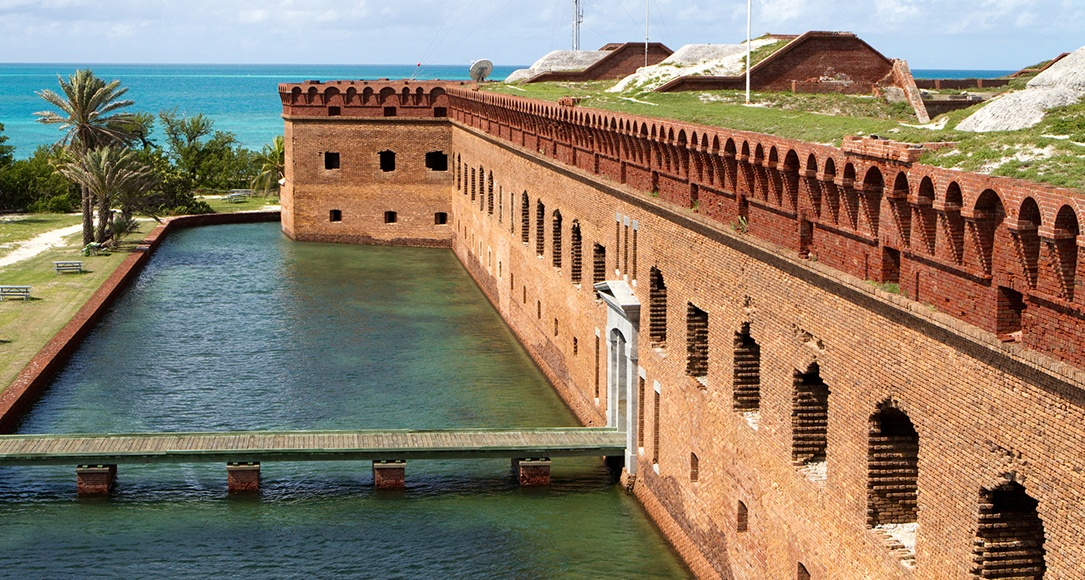 Fort Jefferson and Dry Tourtugas National Park of Key West, Florida