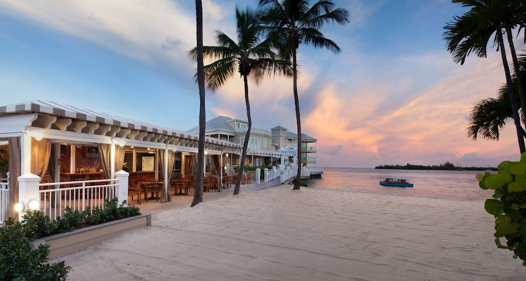 Beach Bar of Pier House Resort & Spa, Key West Florida