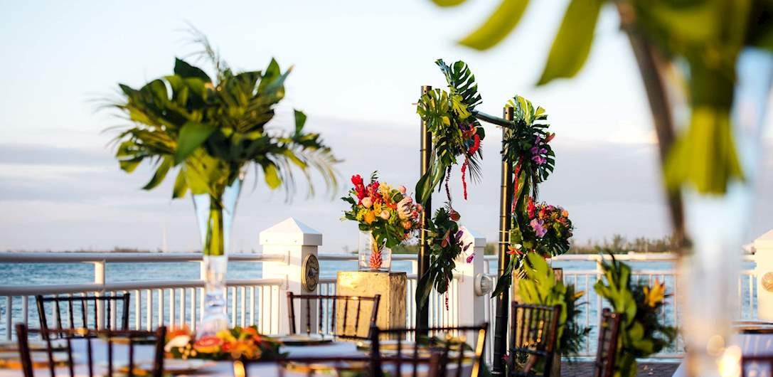 Plan Your Wedding at Pier House Resort & Spa, Key West Florida