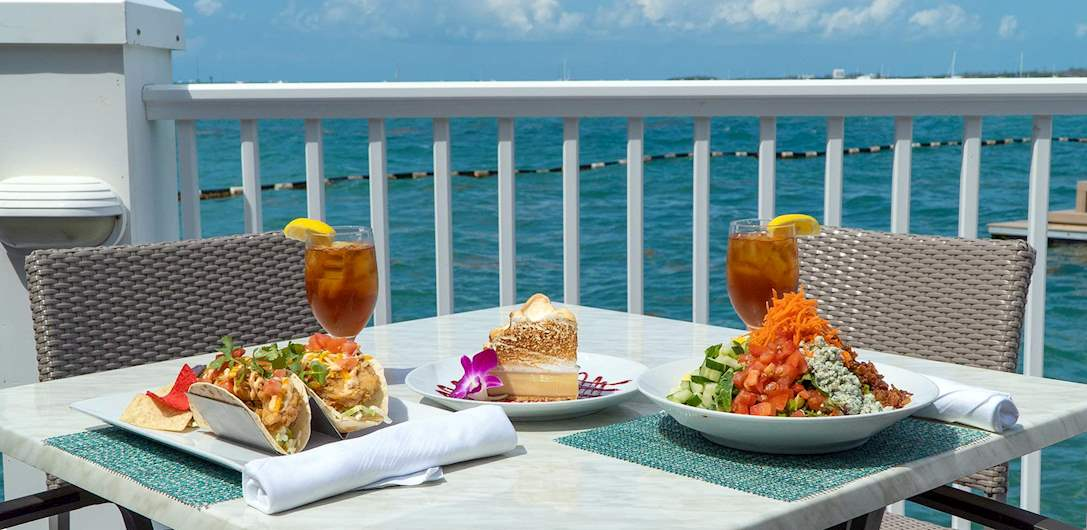 Food of Pier House Resort & Spa, Key West Florida