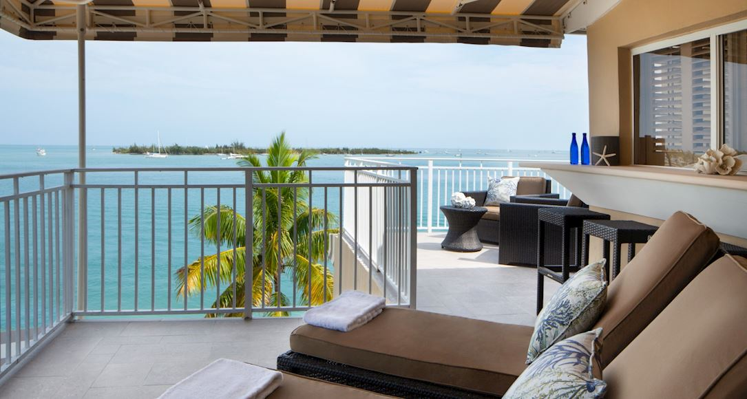 Luxury Ocean View Suite of Pier House Resort & Spa, Key West Florida