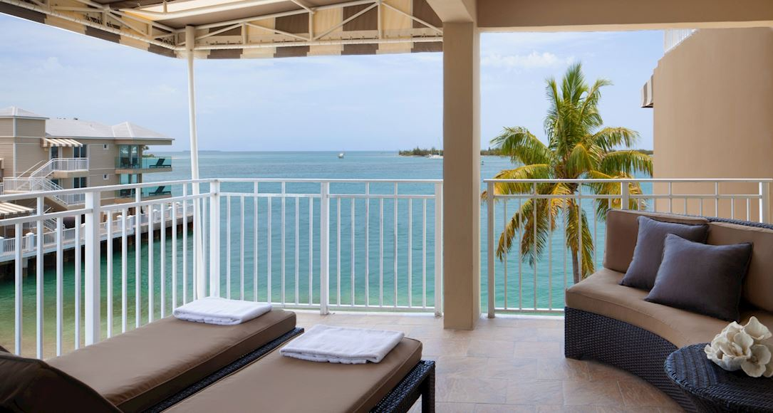 Ocean View Suite of Pier House Resort & Spa, Key West Florida