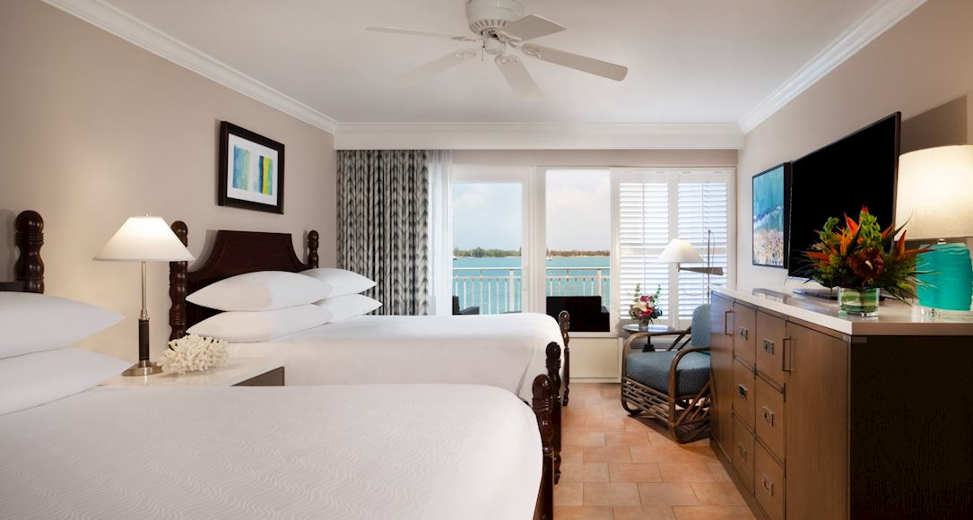 Ocean View Room of Pier House Resort & Spa, Key West Florida