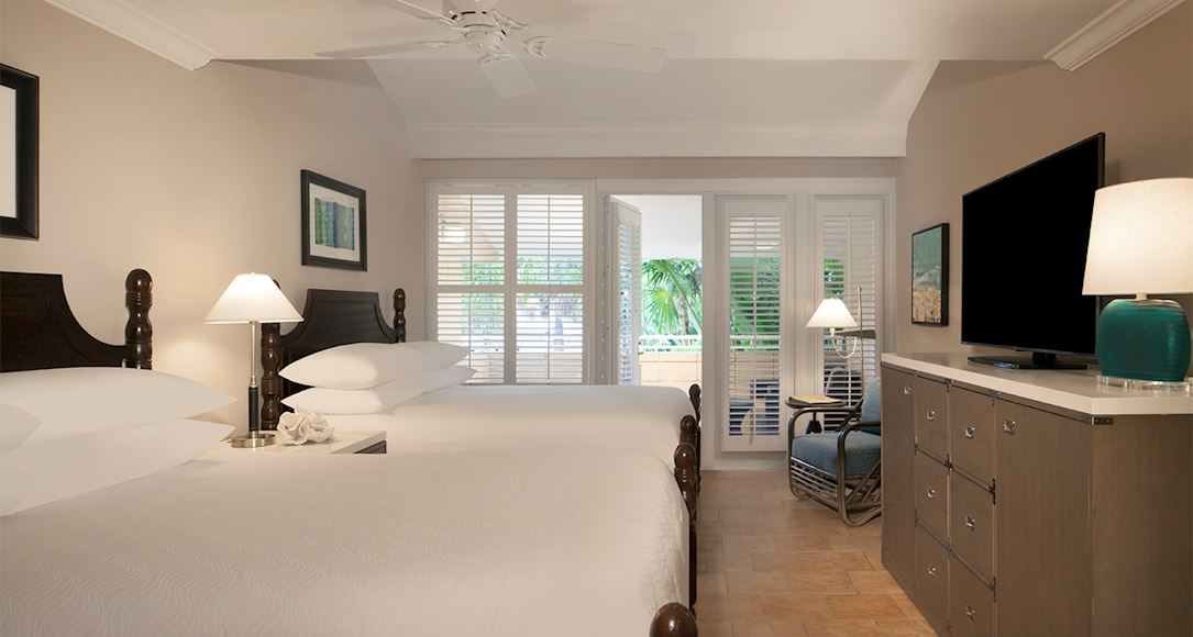 Lanai of Pier House Resort & Spa, Key West Florida