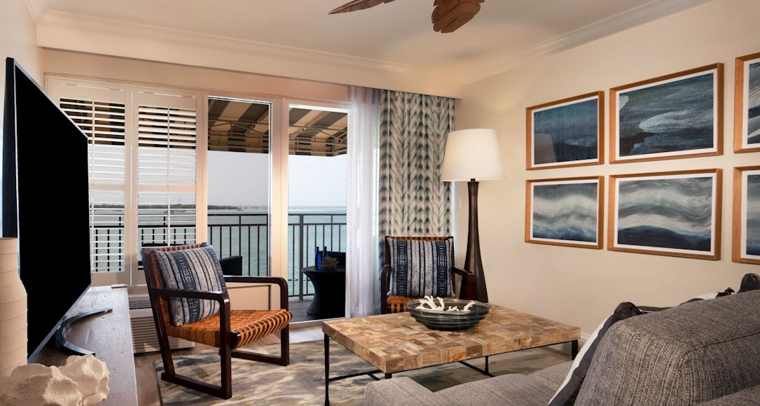 Deluxe Ocean View Suite of Pier House Resort & Spa, Key West Florida